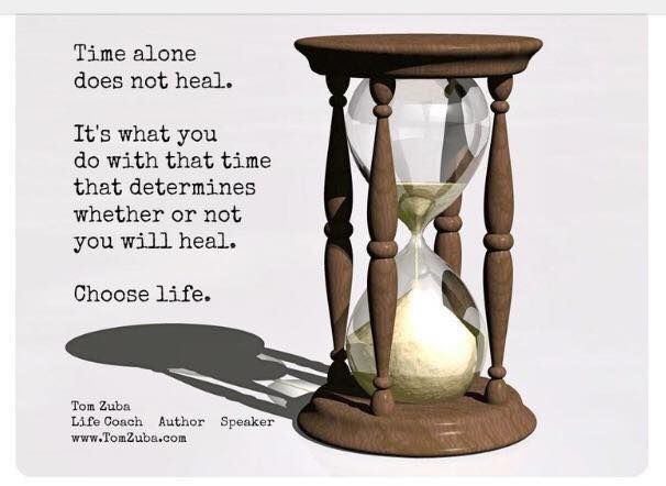 Time alone does not heal – by Elise Kowalski